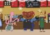 """Мультсеріал для Starbucks від творців """"Сімпсонів"""""""